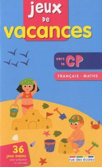 Jeux de vacances français-maths vers le CP