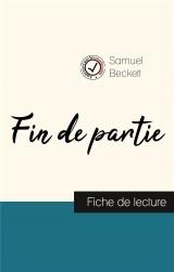 Fin de partie de Samuel Beckett (fiche de lecture et analyse complète de l'oeuvre)