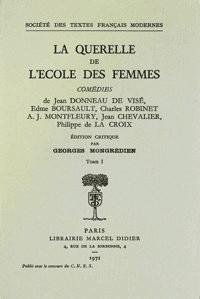 La Querelle de l'Ecole des femmes