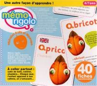 Memo Rigolo Alphabet Fruits et Legumes