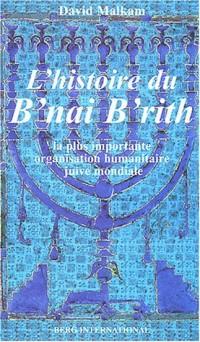 Histoire du B'nai B'rith