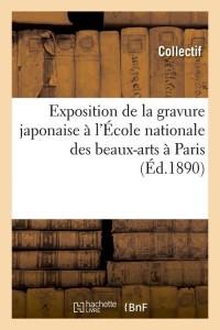 Exposition de la Gravure Japonaise  ed 1890