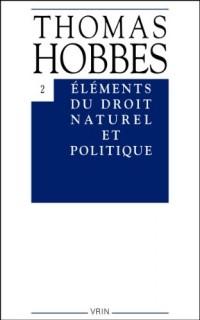 Eléments du droit naturel et politique