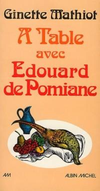 A table avec Edouard de Pomiane