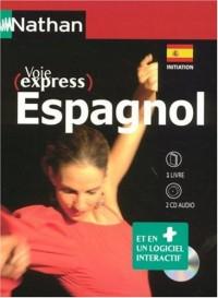 Espagnol initiation : 1 logiciel interactif, 2CD audio et 1 livre