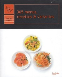 365 menus recettes et variantes