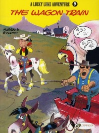 A Lucky Luke Adventure, Tome 9 : The wagon train