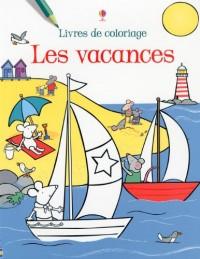 Les Vacances-Livre Coloriage