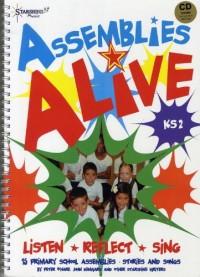 Assemblies Alive - Listen, Reflect, Sing. Partitions, CD pour Voix