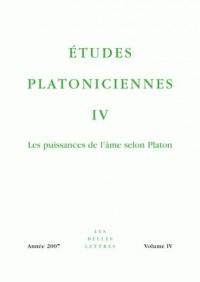 Etudes Platoniciennes/4-2007