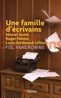 Une famille d'ecrivains : Chroniques buissionières