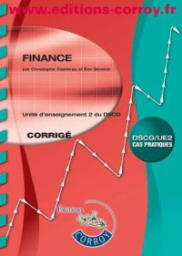 Finance Corrige - Ue 2 du Dscg