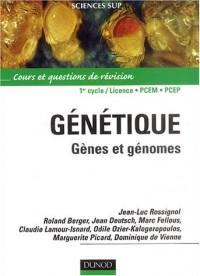 Génétique : Gènes et génomes - Cours et questions de révision