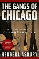 THE GANGS OF CHICAGO BY (ASBURY, HERBERT) PAPERBACK