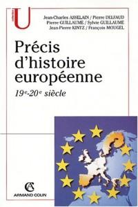 Précis d'histoire européenne 19e-20e siècle