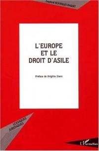 L'europe et le droit d'asile