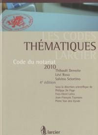 Code du notariat 2010