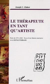 Le thérapeute en tant qu'artiste
