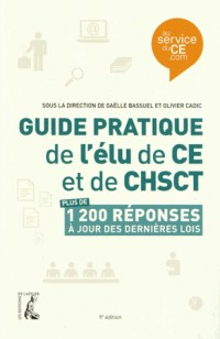 Guide Pratique de l'Elu de Ce de Chsct (Ned)