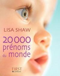 20 000 Prénoms du monde