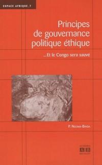 Principes de gouvernance politique éthique
