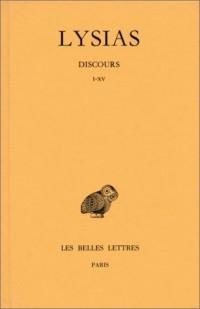 Discours, tome 1 : Discours I-IX, 9e édition