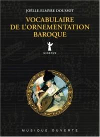 Vocabulaire de l'ornementation baroque