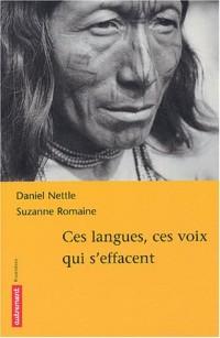 Ces langues, ces voix qui