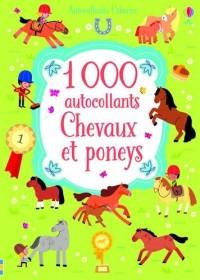 1 000 autocollants Chevaux et poneys