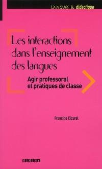 Les Interactions en Classe de Langue Livre