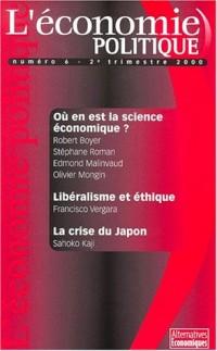 Revue l'économie politique nø6 deuxième trimestre 2000