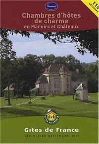 Chambres d'hôtes de charme en Manoirs et Châteaux