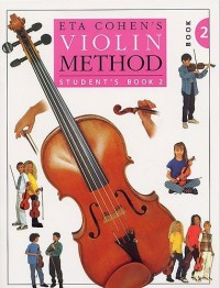 Eta Cohen: Violin Method Book 2 - Student's Book. Partitions pour Violon