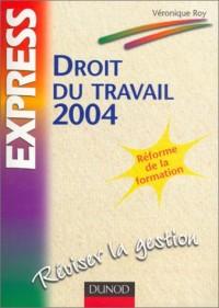 Droit du travail 2004