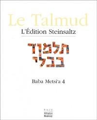Le Talmud : Tome 16, Baba Metsi'a 4