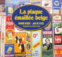 La plaque émaillée belge