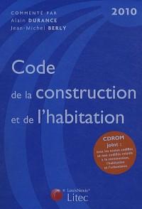 Code de la construction et de l'habitation (1Cédérom)