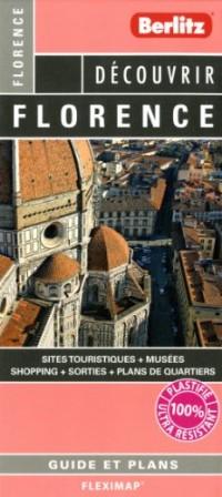 Florence Flexi Map Plan, de Ville Touristique Plastifie Infos Pratiques