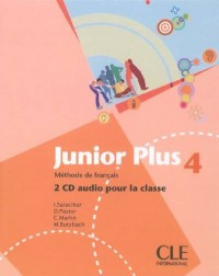 CD COLL JUNIOR PLUS NIVEAU 4 METHODE DE FRANCAIS 2CD AUDIO POUR LA CLASSE