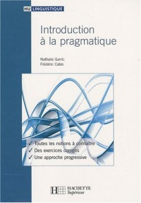Introduction à la pragmatique
