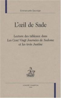 L'oeil de Sade