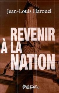 Revenir à la Nation