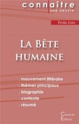 Fiche de lecture la bete humaine analyse litteraire de reference et resume compl