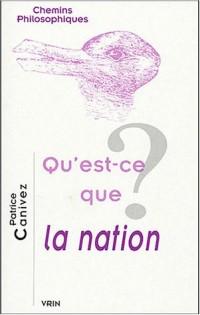 Qu'est-ce que la nation ?
