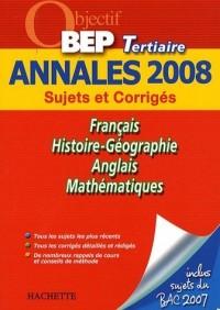 Français/Histoire-Géographie/Anglais/Mathématiques BEP Tertiaire
