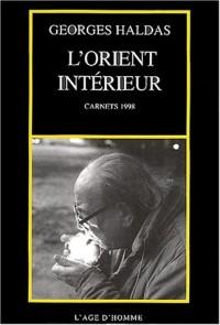 L'Orient intérieur : Carnets 1998