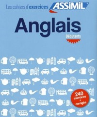 Cahier exercices anglais débutant
