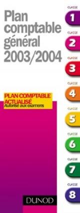 Plan comptable général 2003/2004