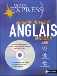 Anglais américain (1 livre + 1 guide + coffret de 4 CD)
