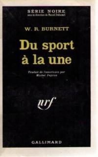 Du sport a la une